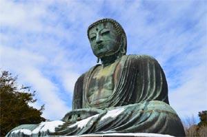 鎌倉のシンボル。鎌倉大仏