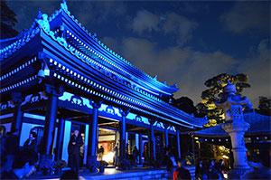 鎌倉 長谷寺ライトアップ