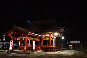 鶴岡八幡宮 初詣 舞殿