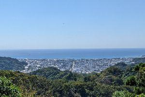 十王岩からの景色